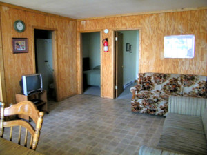 Cabin Four Living Room